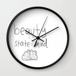 I am Beautiful Wall Clock