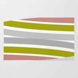 Colorful Strips Rug