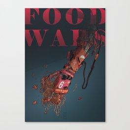 Food Wars Canvas Print