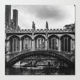 The Bridge of Sighs Canvas Print