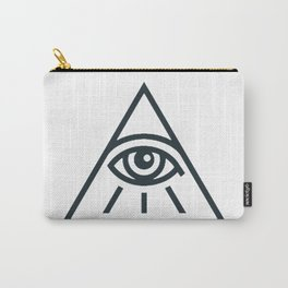 All Seeing Eye - Illuminati Pyramid Version 1 Carry-All Pouch