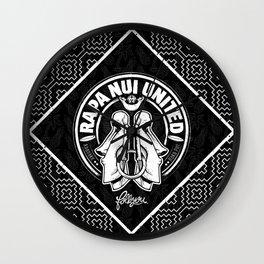 Rapa Nui United Wall Clock