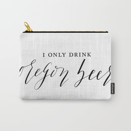 Oregon Beer Carry-All Pouch