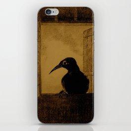 """Odilon Redon """"Le Corbeau (The Crow)"""" iPhone Skin"""