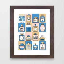 Parks and Rec: Dennis Feinstein Scents Framed Art Print
