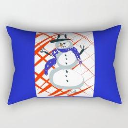 A Frosty Snowman DP150903c Rectangular Pillow