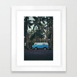 Big Island Van Framed Art Print