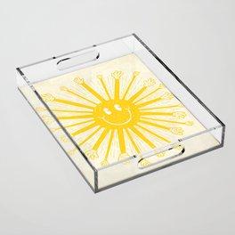 Heat Wave Acrylic Tray