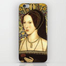 Queen Anne Boleyn iPhone Skin
