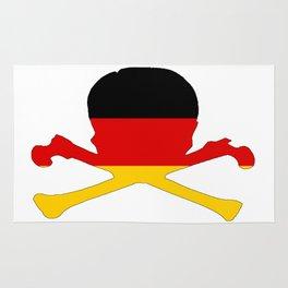 German Flag - Skull Rug