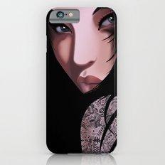 Black Geisha iPhone 6s Slim Case