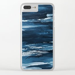 It Comes In Waves III Clear iPhone Case