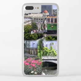 Christchurch Collage No 2 Clear iPhone Case