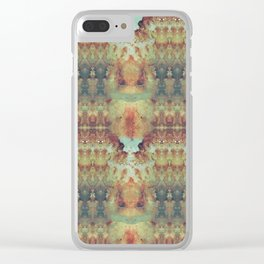 Autumn's Leftovers Clear iPhone Case