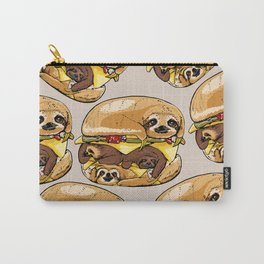 Sloths Burger Carry-All Pouch