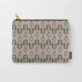 Colorfull Ikat Rosé Carry-All Pouch