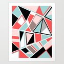 Abstract #534 Facets by rockettgraphics