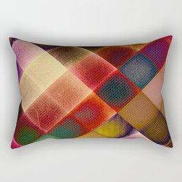 COLOURFUL HILLS IV Rectangular Pillow