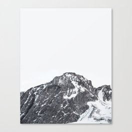 Snow Caps Canvas Print