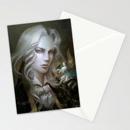 Alucard. Castlevania Symphony of the Night Stationery Cards