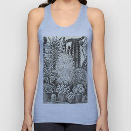 Cacti And Succulents Unisex Tank Top