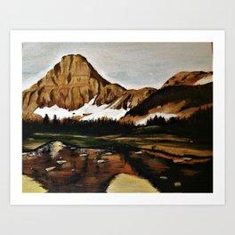 lakefront views Art Print