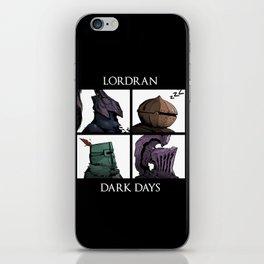 Lordran Dark Days iPhone Skin