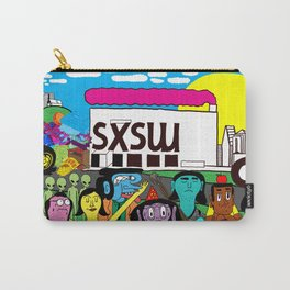 """South by Southwest"" by Steven Fiche Carry-All Pouch"