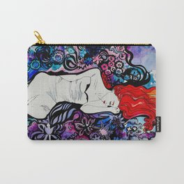 Psychedelic girl Carry-All Pouch