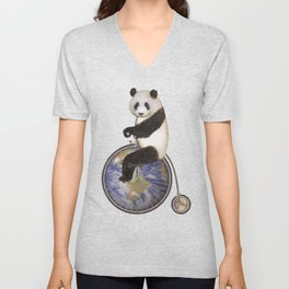 Penny Makes the World Go Around Unisex V-Neck