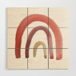 Fruit Punch Rainbow Wood Wall Art