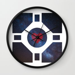 Portal Companion Cube Wall Clock