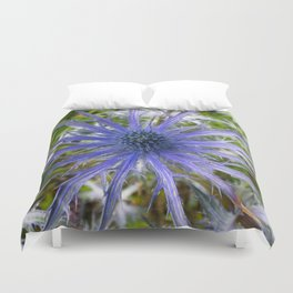 A thistle with style Duvet Cover