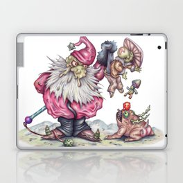 Santanist and Fungish Laptop & iPad Skin