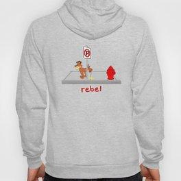 Rebel - No Peeing Hoody