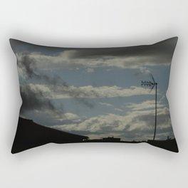 Day Blue Sky Rectangular Pillow
