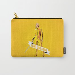 Fight Like a Girl: Beatrix Kiddo Carry-All Pouch