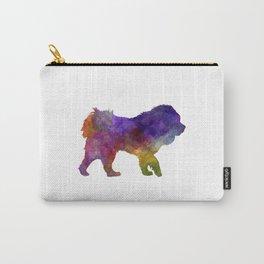 Tibetan Mastiff in watercolor Carry-All Pouch