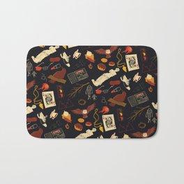 """""""Twin Peaks"""" Pattern Design Bath Mat"""