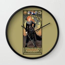 Sorsha Nouveau - Willow Wall Clock