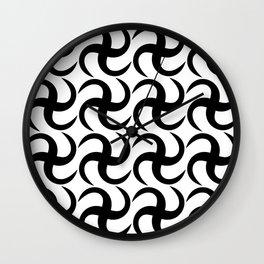 African pattern Wall Clock