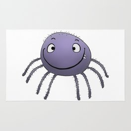 Spider Smile Rug
