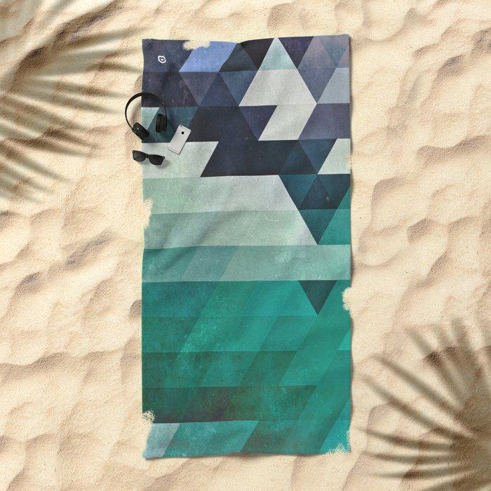 aqww hyx Beach Towel