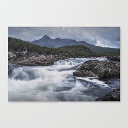One Day in the Mountains Canvas Print