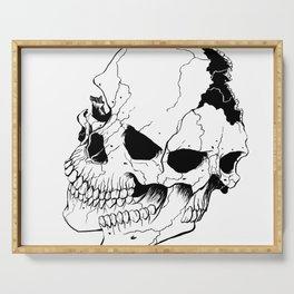 Skull (Fragmented and Conjoined) Serving Tray