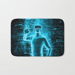 Virtual Reality User Bath Mat