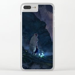 Eclipse Clear iPhone Case