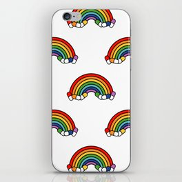 Trippin Rainbows iPhone Skin
