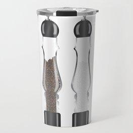 Glass Salt And Pepper Travel Mug