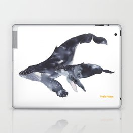 Humpback Whales Laptop & iPad Skin